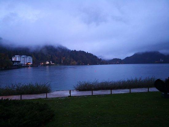 Beautiful lake, but it is rainy