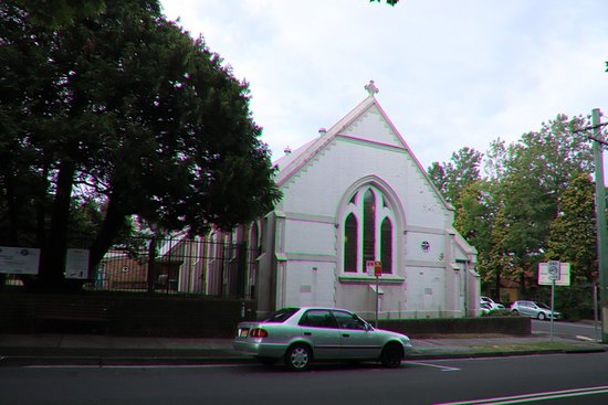 Leura, Australia: The attractive church