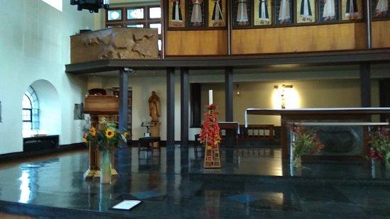 Inside St Matthew's