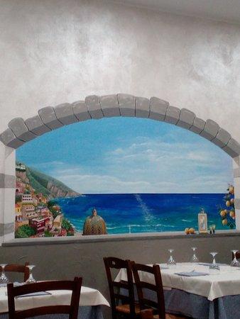 Sumirago, Ιταλία: Una finestra su Positano