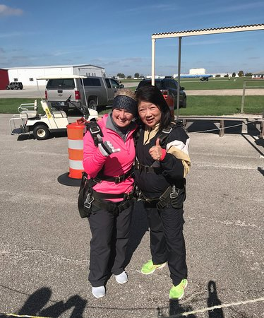 "Frankfort, IN: ""Jump Sisters"" - Janet & Jill"