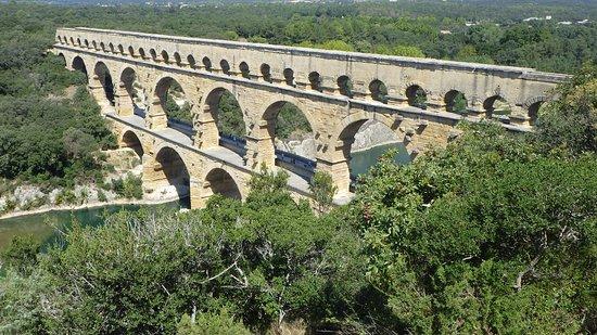 Pont du Gard : From above