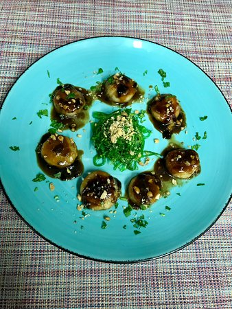 Episkopi, Cyprus: Coming soon! New menu! Scallop with wakame salad!