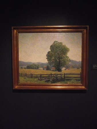 298533202ee PA - CHADDS FORD - BRANDYWINE RIVER MUSEUM OF ART - CHADDS FORD LANDSCAPE -  OIL BY N.C. WYETH - Picture of Brandywine River Museum of Art