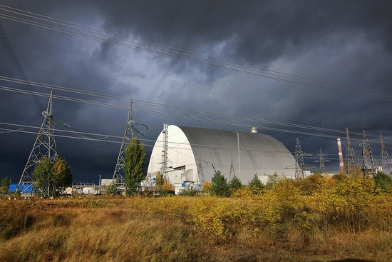 the sarcophagus - Picture of Private tour in Chernobyl, Kiev