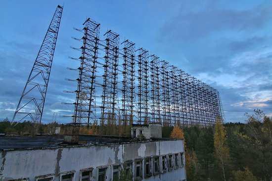 Tour privado en Chernobyl: duga radar station
