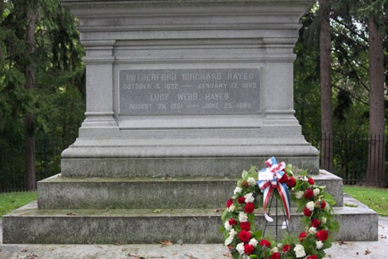 Rutherford B. Hayes Presidential Library & Museums: R. B. Hayes Home, tomb