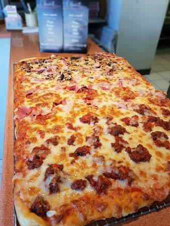 Villelongue-dels-Monts, Francja: Plaque de pizza