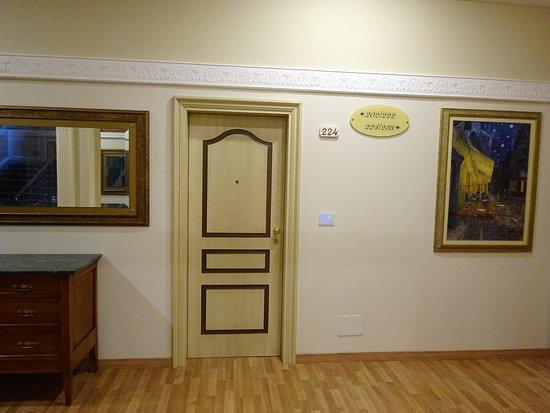 Grand Hotel Vittoria: Hallway