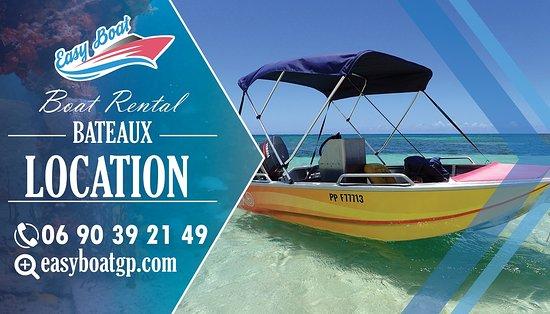 Sainte Rose, Guadeloupe: location bateau easy boat