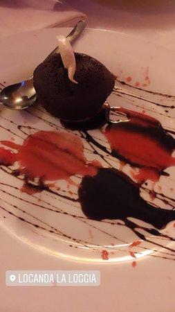 Roccafluvione, อิตาลี: Tortino al cioccolato