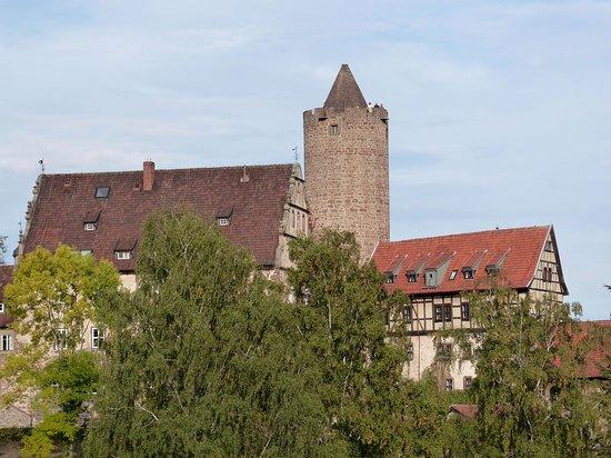 Schlitz, เยอรมนี: Weihnachtskerze im Sommer