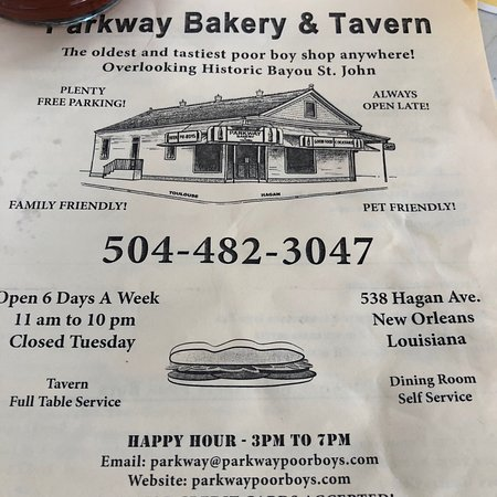 Parkway Bakery & Tavern: photo2.jpg