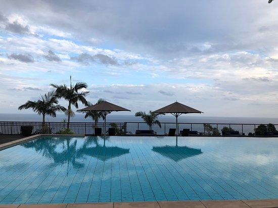 Sankara Hotel Spa Yakushima Amazing View From The Lobbly Pool Area