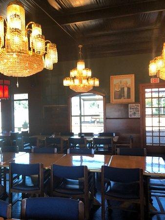 Kennard, TX: Restaurant interior