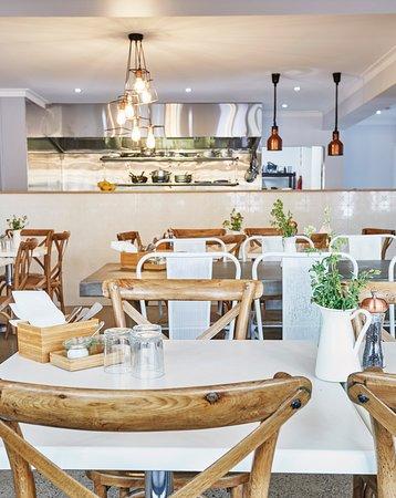 Caringbah, Australien: Restaurant decor