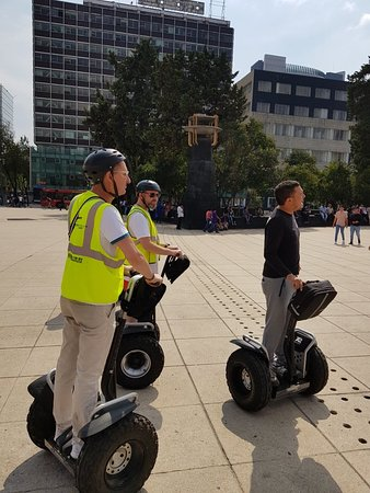 Visite en Segway à Mexico: Reforma Avenue Photo