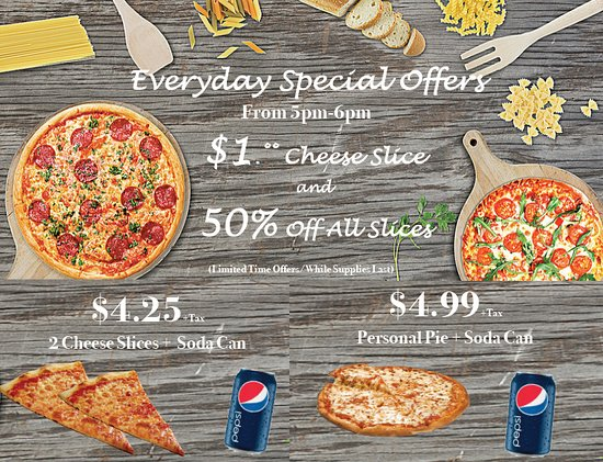 Everyday Special Offers