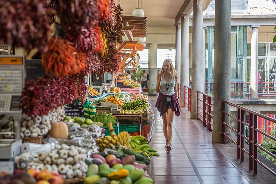 Madeira Islands, Portugal: Things to do in Funchal?  Visit Mercado dos Lavradores and discover lots of flavours and colours! #visitmadeira #madeiraisland #lifestyle #island #islandlife #placestogo #madeiranowordsneeded