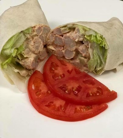 Shrimp Salad Wrap Picture Of Little Lou S Rosedale Tripadvisor