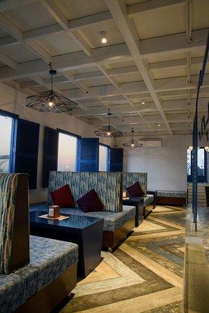 Asteria: lounge area