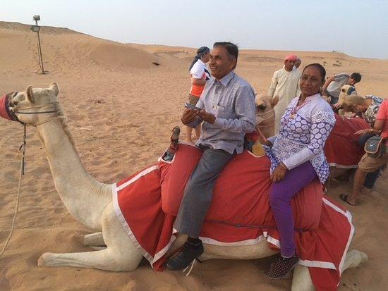 lovely time spend at Desert