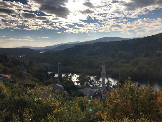 Pocitelj, Bosnia and Herzegovina: On the way to the top