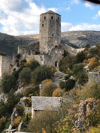 Pocitelj, Bosnia and Herzegovina: Tower views