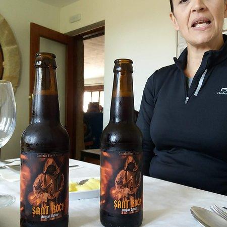 Vistabella del Maestrazgo, España: Muy buena cerveza artesana.