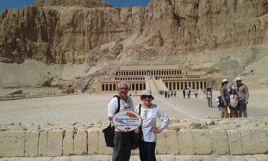 estamos feliz en Egipto