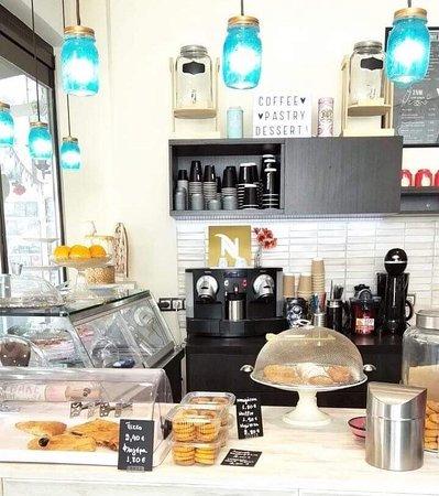 Chaidari, กรีซ: Nespresso coffee... what else?