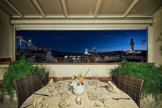 Ristorante Con Vista Panoramica Su Firenze Picture Of Alla