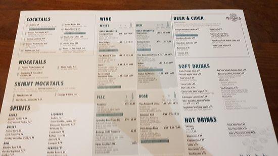 Bella Italia Inverness: menu 1