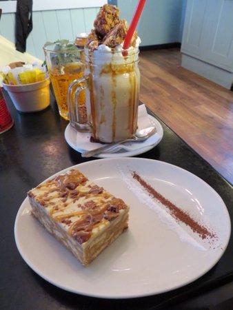 Caramel Shortbread Milkshake