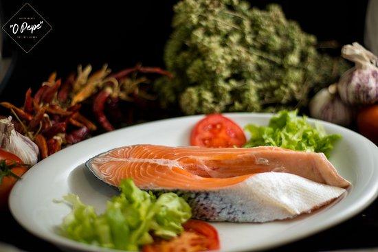 Restaurante O Pepe salmon