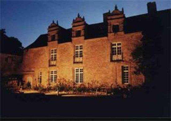 Guerande, Frankrike: Château de Careil de nuit