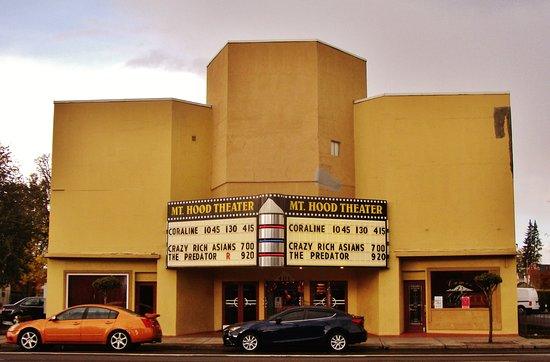 Mt. Hood Theater on Powell Blvd in Gresham, Or