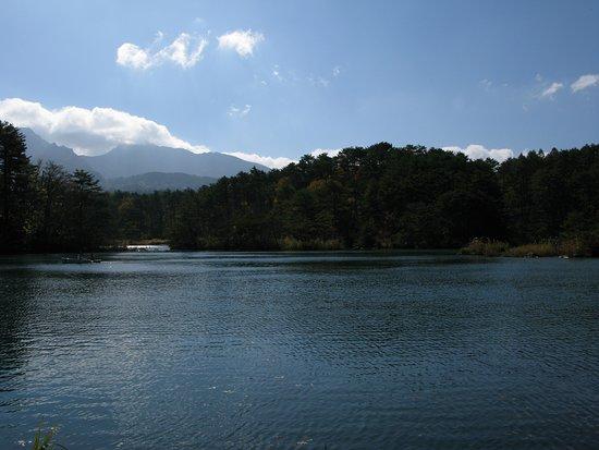Yama-gun, Japan: 五色沼からの磐梯山