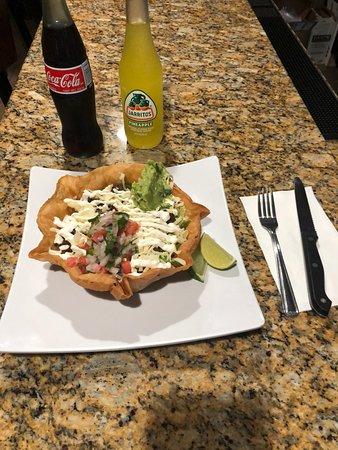 Romeoville, IL: Taco salad bowl!! Delicious