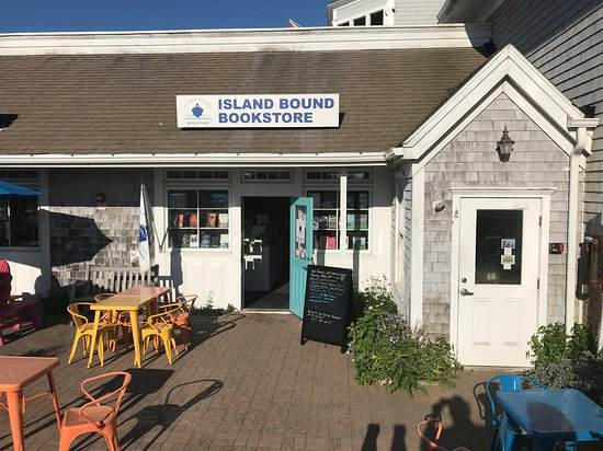 New Shoreham, RI: Island Bound Bookstore ready for reading and relaxing.