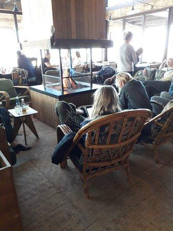 Velsen, The Netherlands: Chimenea interior