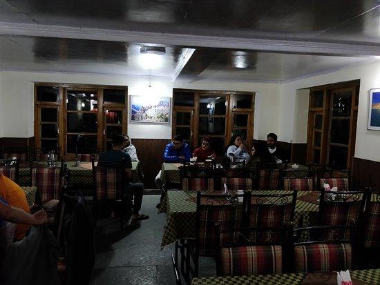 Jispa, Ινδία: Restaurant