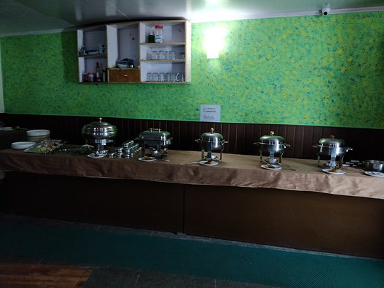 Jispa, Индия: Restaurant Buffet