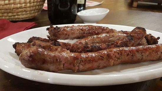 """Gaggi, อิตาลี: """"Salsiccia di maiale dei Nebrodi"""" ottima!!!"""