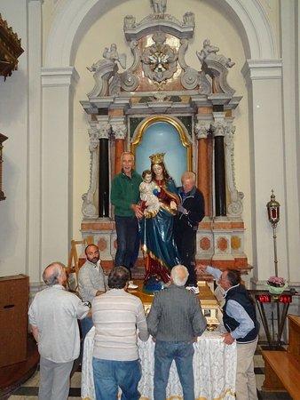 San Lorenzo Isontino, Italy: traslazione della Statua della Madonna per la Processione della Madonna del Rosario che si tiene