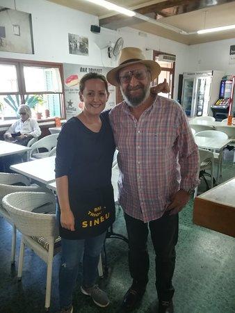 Bar Triquet Pizzeria: Amb el nostre estimat i admirat Tomeu Penya