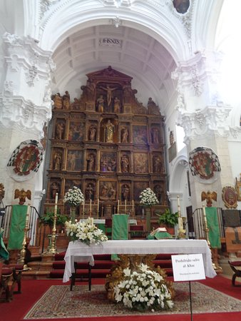 Church of La Asuncion: Retablo Mayor