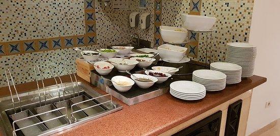 Impressionen und Präsentation Buffetrestaurant