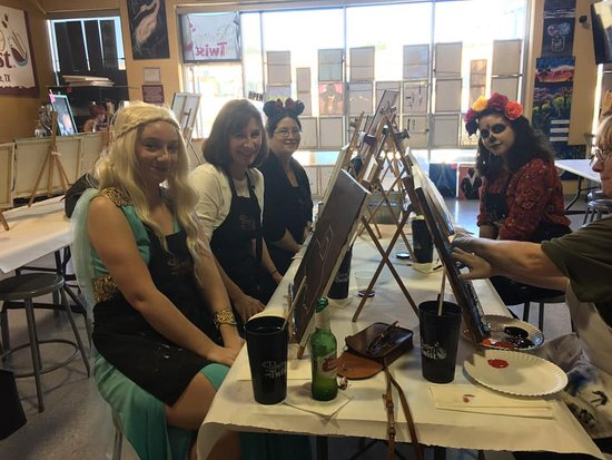 Lewisville, TX: Painting With a Twist