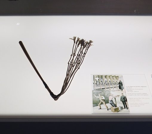 Morrin Centre: Cat o' nine tails from the prison days.